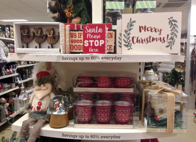 Have a glittering Christmas with Homesense (& giveaway).
