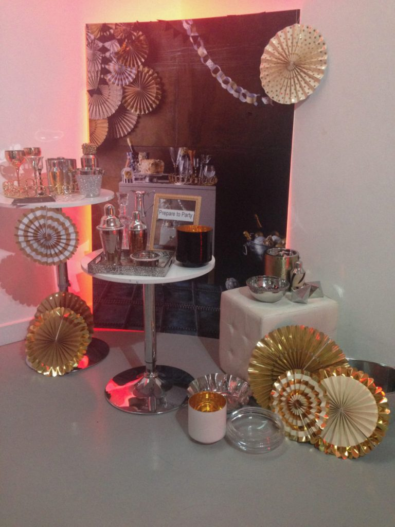 A selection of Christmas party items from Homesense