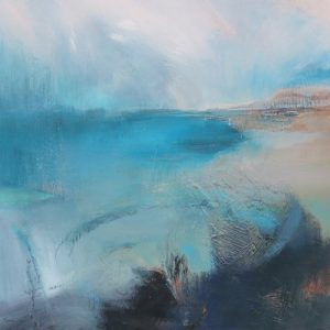 Kathy Ramsay Carr's beautiful abstract seascape