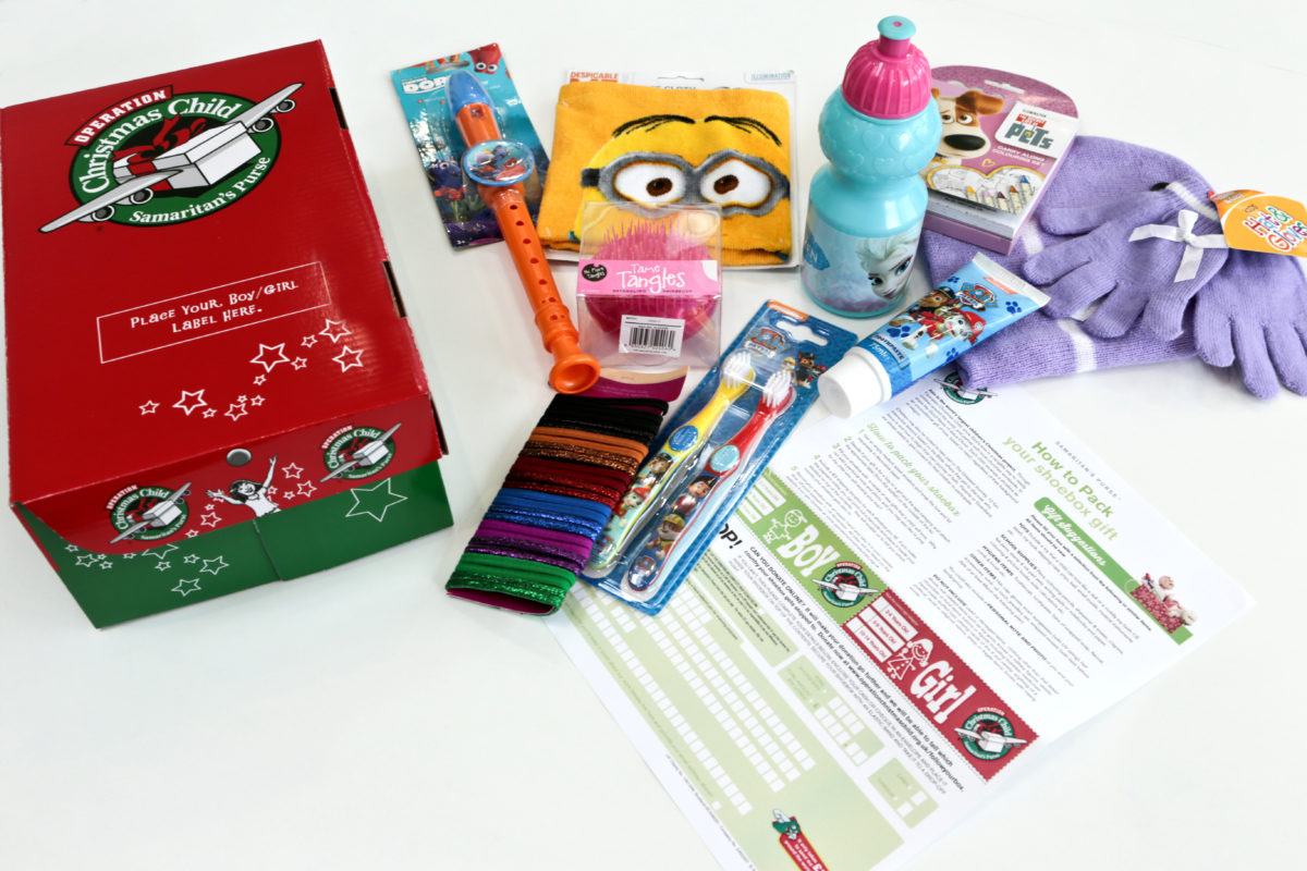 It's Time To Fill Our Christmas Shoeboxes