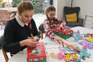 Our girls are filling Christmas shoeboxes again this year as part of Operation Christmas Child. Like many other individuals, groups, organisation, churches, they want to give something to a child who otherwise has very little. To let them know that they are being thought about by someone else in another corner of the world.