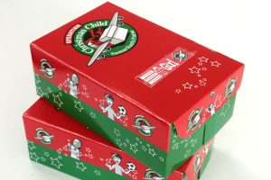 Our Operation Christmas Child Shoeboxes are ready to take to Church