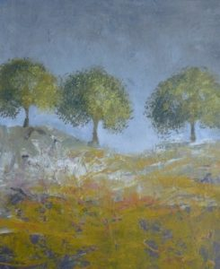 Three Trees painting