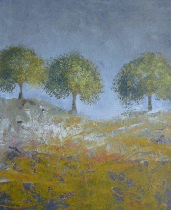 Three Trees painting
