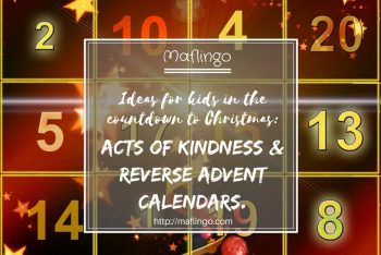 Countdown to Christmas: kindness, giving & 'reverse Advent calendars'