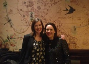Me and Caro from The Twinkle Diaries finally meet.
