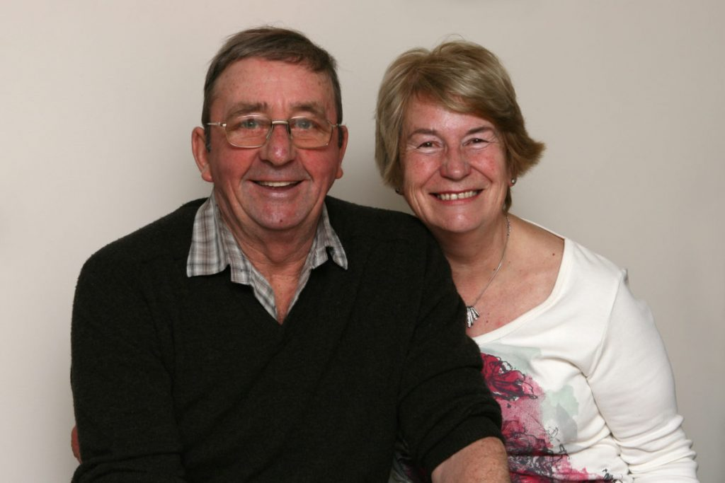 John and Janet Taylor, Richard's mum and dad.