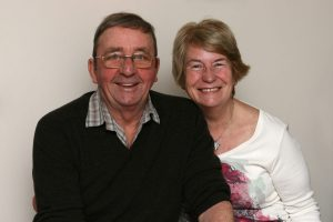 John and Janet Taylor, Richard's mum and dad.