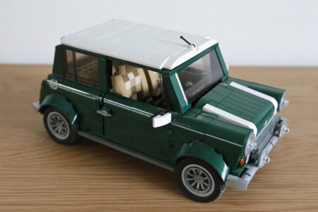 Lego Mini Cooper Car