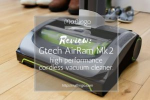 Review: The all new Gtech AirRam Mk2 vacuum cleaner.