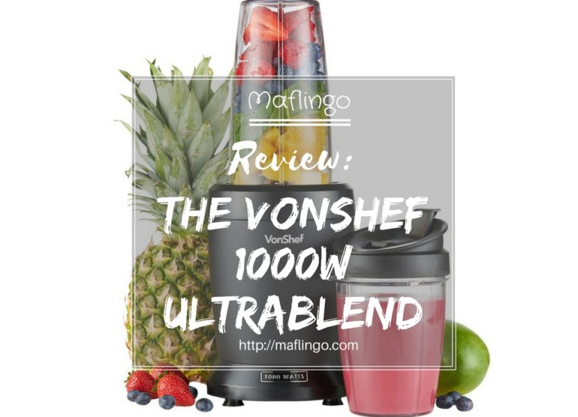 VonShef Ultrablend review & giveaway: better than bullets & ninjas?