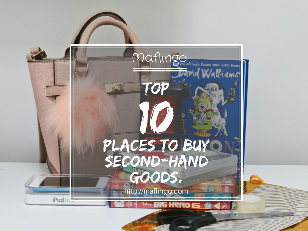 Give more for less: Top 10 places to buy second-hand gifts.