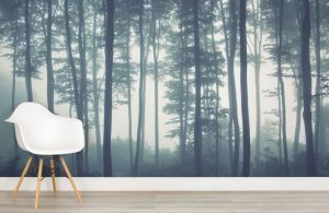 Sea of treas forest wallpaper murals