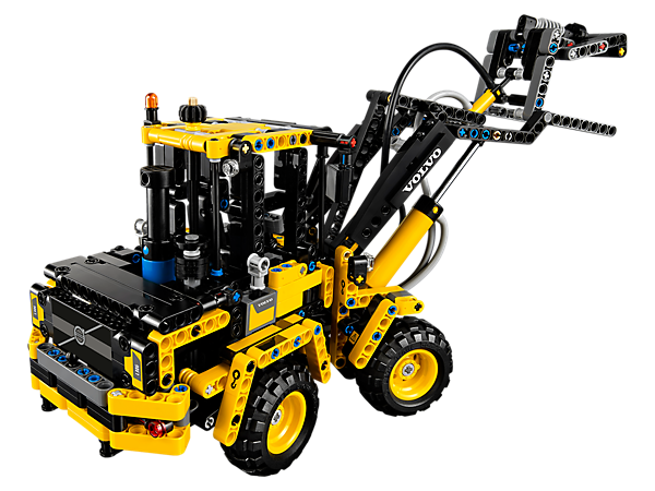 Lego Technic Volvo L30G alternative build