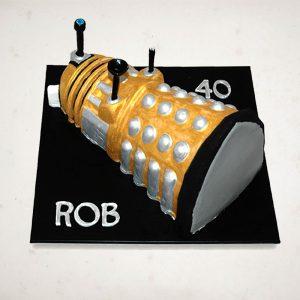 Scrumptons Cakes Dalek Cake