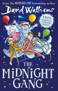 Book cover for David Walliams' Children's book, The Midnight Gang