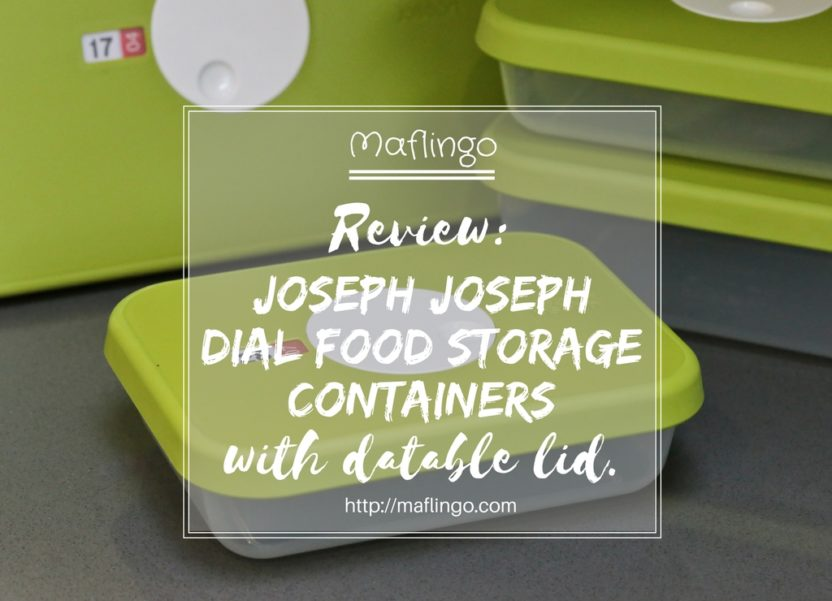 Review & giveaway: The Dial food storage range from Joseph Joseph