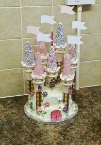 Scrumptons Cakes Disney Princess Castle Cake