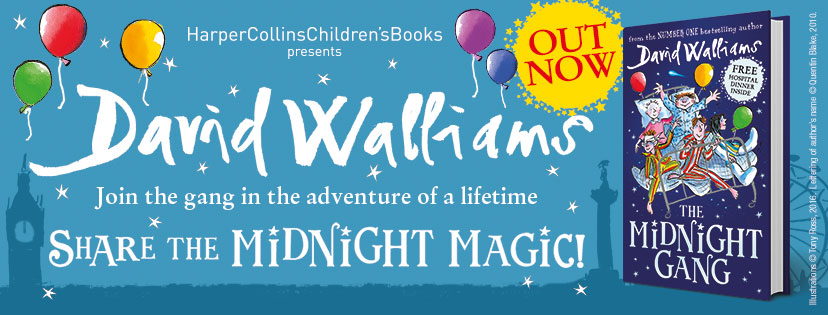 Banner for The Midnight Gang by David Walliams
