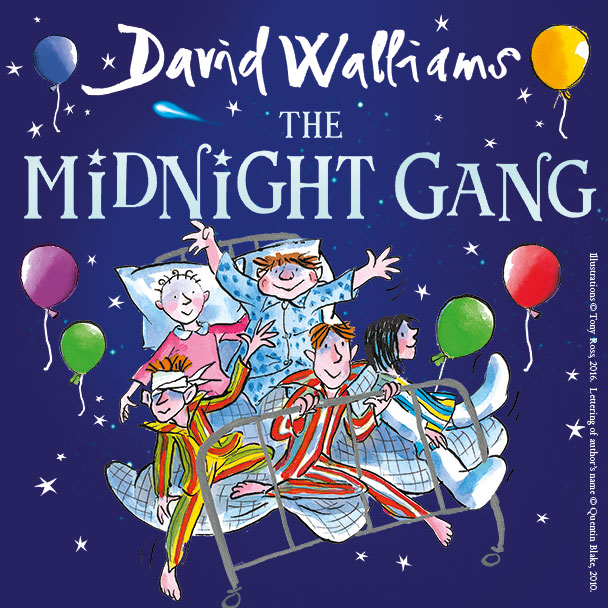 Book cover of The Midnight Gang by David Walliams