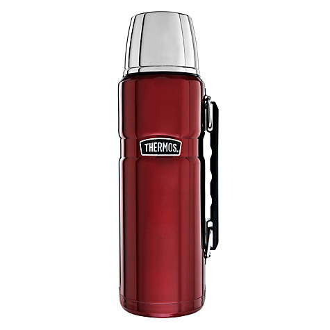Thermos Vintage Flask, 1.2L, Red