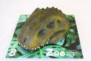 Scrumptons Dinosaur cake