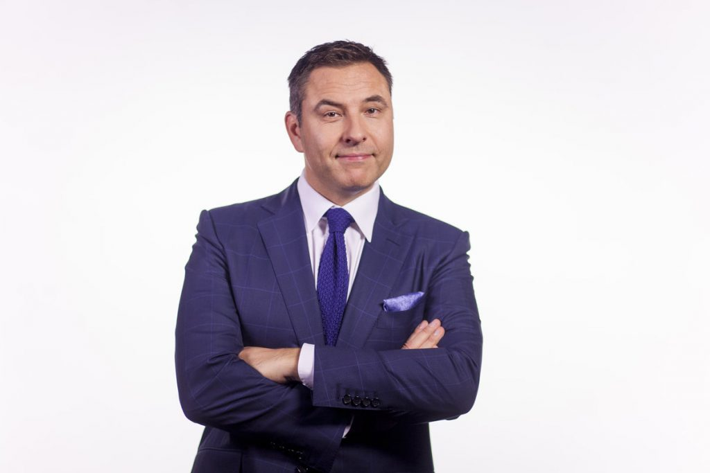 Author David Walliams