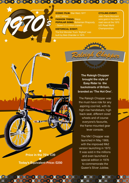 As Halfords celebrates 'Bikes through the decades', I recall my