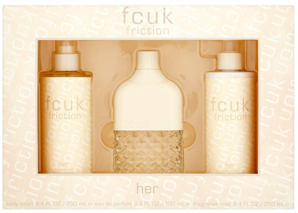 French Connection UK Friction Her Eau De Toilette 100ml Gift Set, The Fragrance Shop, £20.