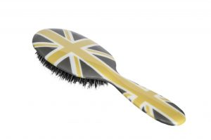Rock and Ruddle stunning designer, natural boar bristle hair brushes (Large £30/ Small £20) from www.rockandruddle.co.uk