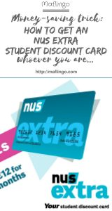 How to get an NUS Extra Student Discount Card, even if you aren't a student so you can access hundreds of discounts and deals, including reductions on Amazon Prime, Spotify, Apple, ASOS.