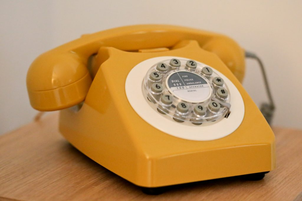 Our Mustard Yellow, 746 Phone: A 1960's Retro Design Classic