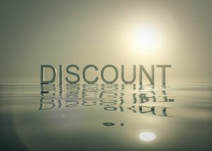 Discount words on water