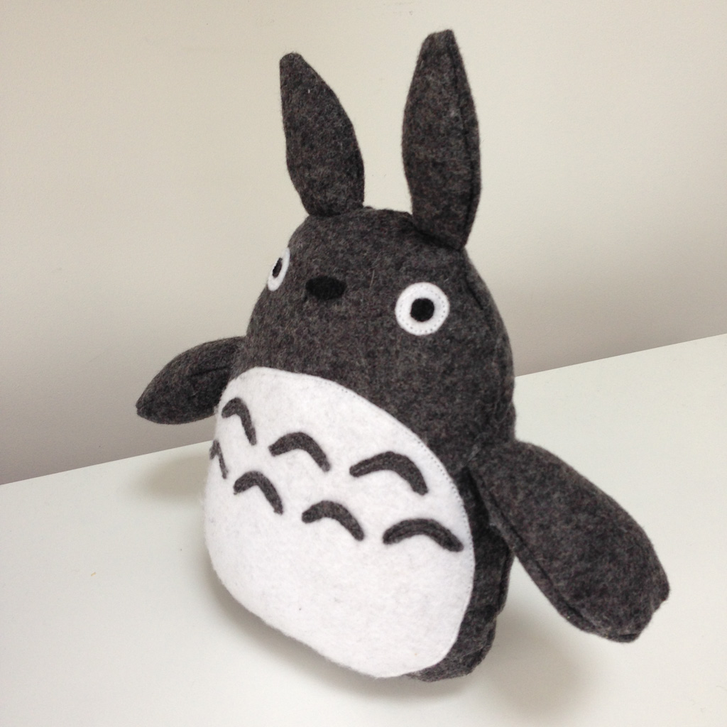 Diy Totoro Plush Toy side view