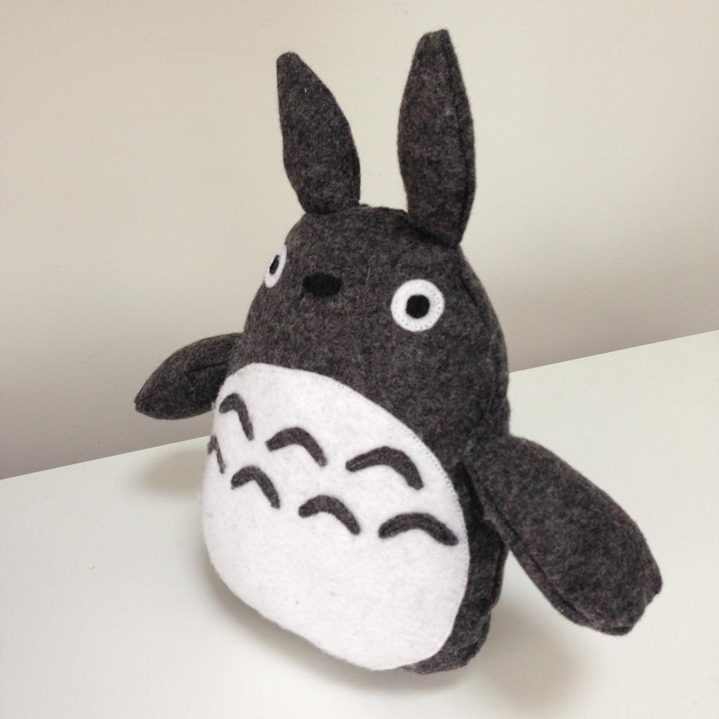 Diy Totoro Plush Toy side view