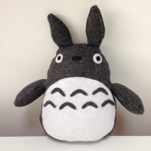 DIY Totoro Plush Toy Front VIew
