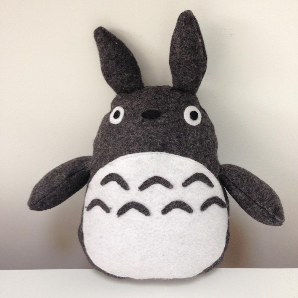 DIY Totoro Plush Toy Front VIew