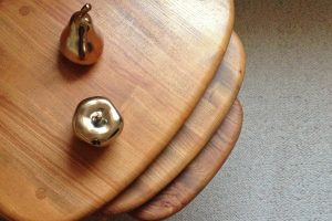Ercol Pebble Table nest Feature Image