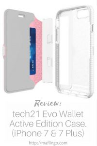 I review the new Evo Wallet Active Edition smartphone case for the iPhone 7 and iPhone 7 Plus from tech21. The ultra-thin & lightweight wallet case has an all-new 3 layer impact absorption system, as well as a detachable cover with a flexible mesh pouch