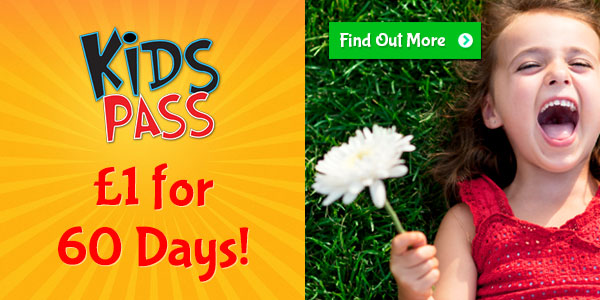 Kids Pass Promo £1 for 60 days