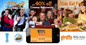Kids Pass Main Promo Image With special offerss.