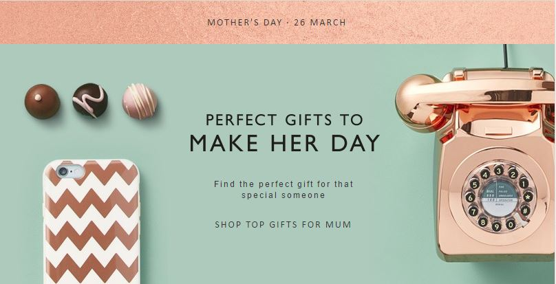 John Lewis - Perfect Mother's Day gifts for her