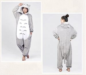 Tonwhar® Totoro Kigurumi Pajamas Adult Anime Cosplay Halloween Costume