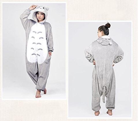Tonwhar® Totoro Kigurumi Pajamas Adult Anime Cosplay Halloween Costume