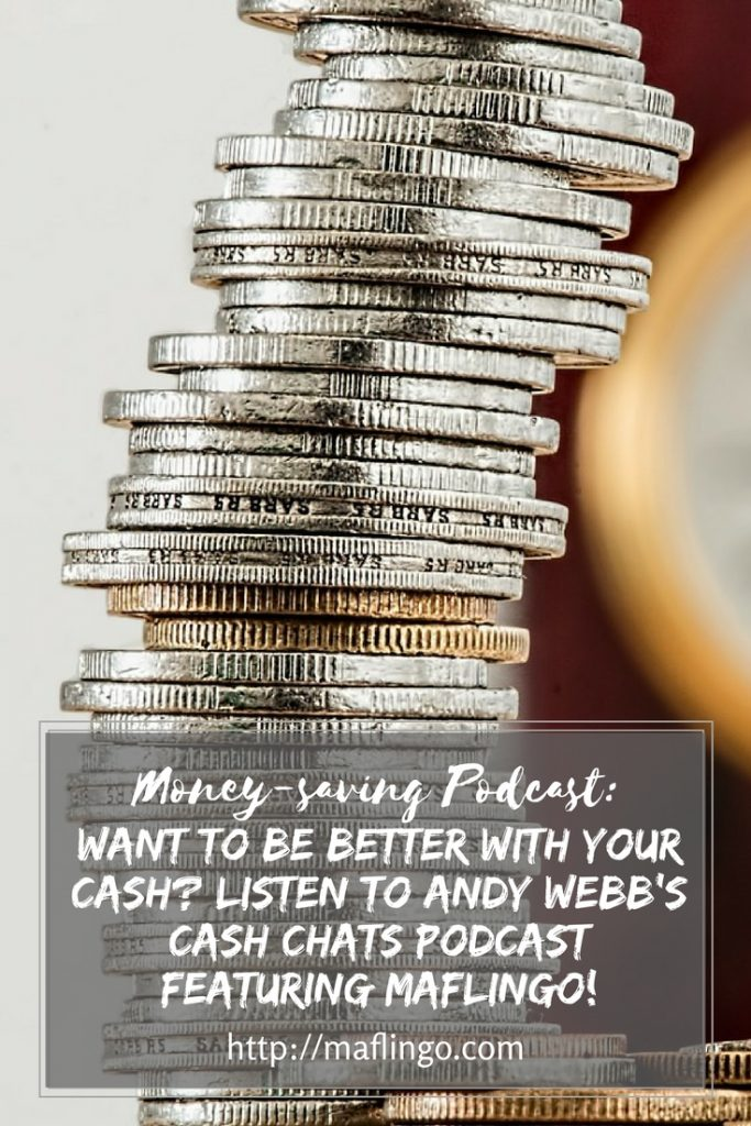 Want to save money? Check out Andy Webb's Cash Chats Podcast featuring me! We talk about loyalty cards, cutting the cost of driving and how to get an NUS student card.