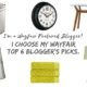 I'm a Wayfair featured blogger! I select my top 6 'Blogger's Picks'.