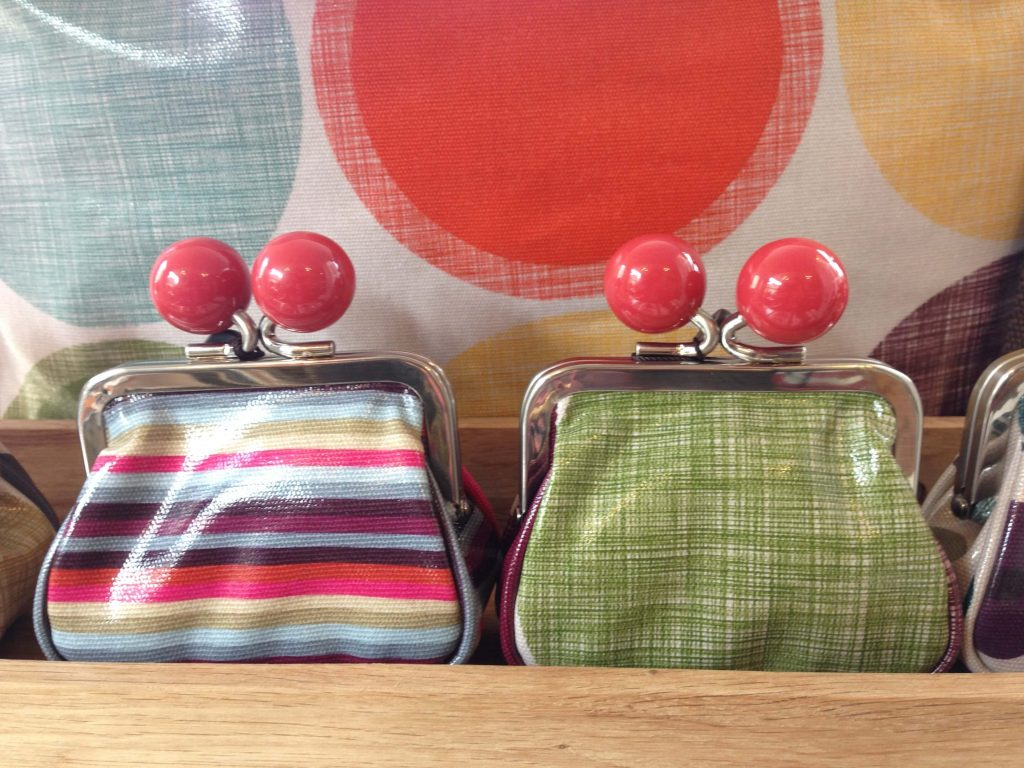 A pair of frame purses