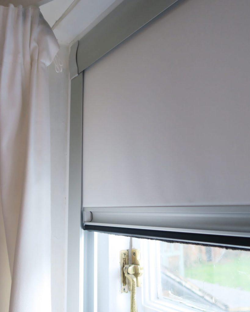 Total blackout roller blinds