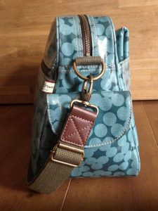 Sophia & Matt Changing Bag strap close-up