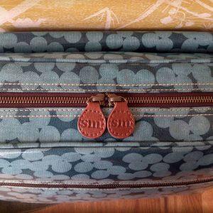 Sophia & Matt Changing Bag zipper close-up
